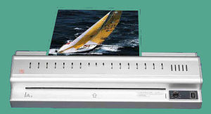 Aluminium Shell A3 Pouch Laminator (JF-330L) pictures & photos