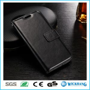 Leather Wallet Flip Case for Mobile Phone pictures & photos
