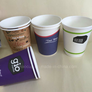 Disposable Full Sizes Paper Coffee Cup pictures & photos