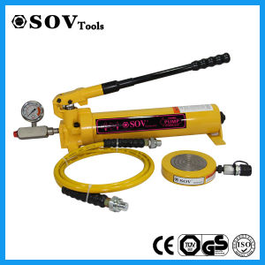 Compact Structure Low Profile Hydraulic Super-Thin Jack Factory Price pictures & photos