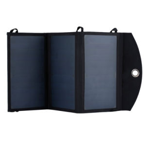 20W Solar Power Bank Charger with 2*2.4A Dual USB Ports pictures & photos