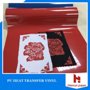 Excellent Korea Quality Vivid Color Transfer Film, PU Based Transfer Textile Vinyl pictures & photos