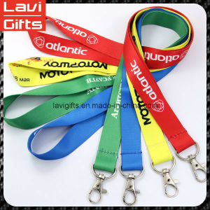 Custom Printed Polyester Sublimation Neck Lanyard with Logo pictures & photos