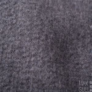Mixed Wool Fabric with Durable for Autumn Winter in Dark Gray
