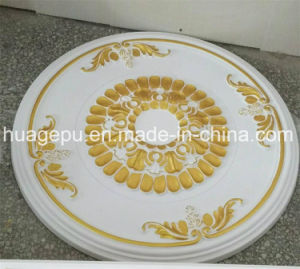 Factory Wholesale PU Foam Ceiling Medallion Mouldings for Interior Decoration pictures & photos