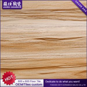 Foshan Juimsi porcelain Wood Look 600*600mm Rustic Flooring Tile