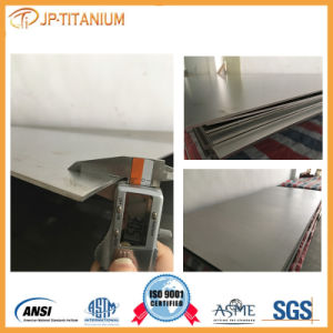 Small Batch Titanium Sheet Plate Grade 12 Cut in Stock Thick 4.0 5.0 6.0 pictures & photos