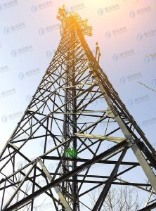 Steel Frame Communication Lattice Tower pictures & photos