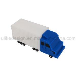 PVC Track Car Promotion USB Flash Drive (UL-P034-01) pictures & photos