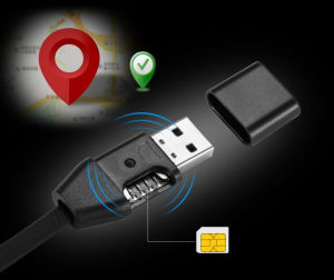 Portable Mini USB Cable with Charging Function for Ios and Android GPS Tracker pictures & photos