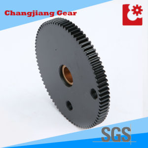 Chemical Black Pinion Standard Stock Transmission Spur Sprocket Gear pictures & photos
