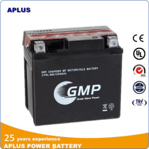 High Performance 12V 4ah Dry Charge Mf Motorcycle Battery Ytx5l-BS pictures & photos