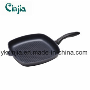 Nonstick Carbon Steel Shallow Grill Pan 28cm X 4cm-Xjt27 pictures & photos