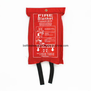 En1869 Approved Kitchen Family Industrial Fiberglass Safety Fire Blanket pictures & photos