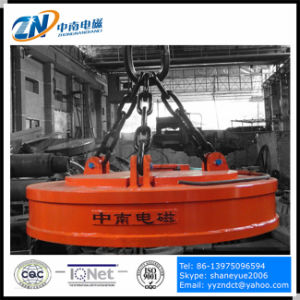 High Frequency Lifting Magnet for Steel Ingot Lifting with 2750kg Lifting Capacity MW5-180L/1-75 pictures & photos