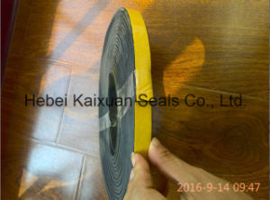 Flat or Half Round Self Adhesive Cabinet Door Waterproof Rubber Seal Strip pictures & photos