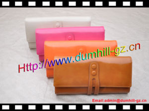 New Leather Ladies Wallet Women PU Wallets for Fashion Lady pictures & photos