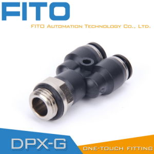 Px Pneumatic G-Thread Fittings with Nickel Plated and O-Ring with Best Price pictures & photos