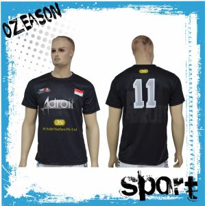 Wholesale Cheap Customized Polyester Sublimation Dri Fit Soccer Shirt (S025) pictures & photos