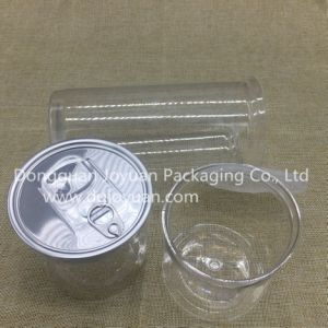 Empty Plastic Cans with Easy Open Lid for Snacks From China pictures & photos