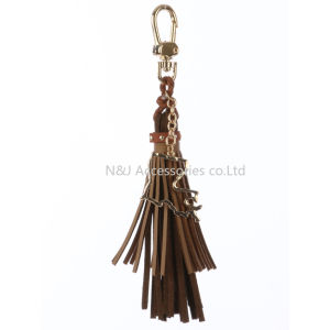 State of Louisiana Charm Faux Leather Tassel Key Chain Ornament Gift pictures & photos
