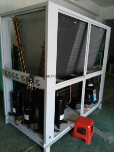 10HP Air Cooled Glycol Chiller (-8C) for Etheyle Alcohol Cooling pictures & photos