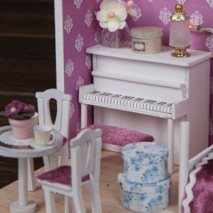 Wholesale Miniature Doll House Gift pictures & photos