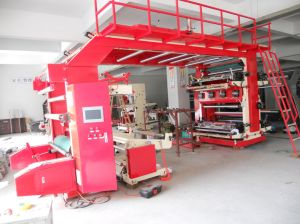 High Speed Roll Paper Flexo Printing Machine pictures & photos