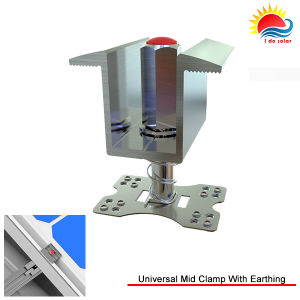 Adjustable Solar PV Mounting MID Clamp for 35~50mm Solar Panel (ZX025) pictures & photos