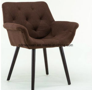 Solid Wood Chair Nordic Leisure Leather Chair Modern Coffee Restaurant Cafe Chairs Contracted Chairs (M-X3844) pictures & photos
