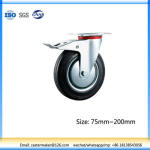 160mm Wheels for Garbage Bins (With Brake) pictures & photos