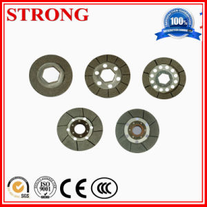 Tower Crane Spare Parts Rotary Brake Coil Car Brake Pad pictures & photos
