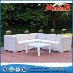 Fabric Upholstered Quick Dry Foam Sofa Outdoor Furniture for Hotel pictures & photos