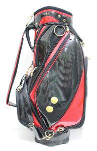PU Golf Equipment Staff Stand Golf Bag pictures & photos
