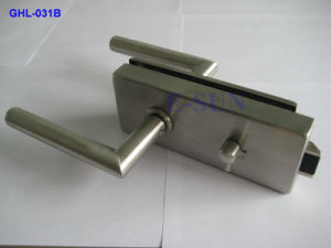 Europe Popular New Glass Door Lock & Door Hardware (GHL-027C) pictures & photos