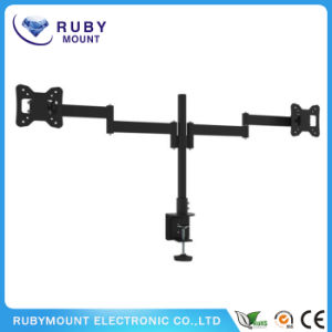 China Supplier Two Screens TV Desk Swivel Mount pictures & photos