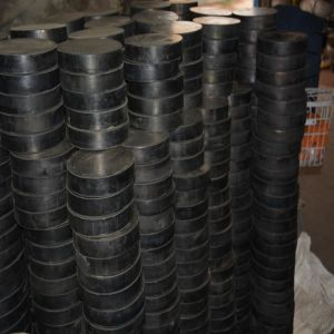 Steel Reinforced Elastormeric Sliding Rubber Bearing Neoprene Pads pictures & photos