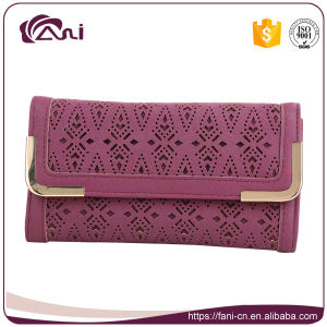 China Handmade Purse Wallet Leather Women pictures & photos