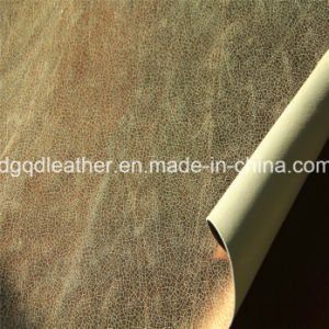 Double-Sided PU Shoes Leather (QDL-SP025) pictures & photos