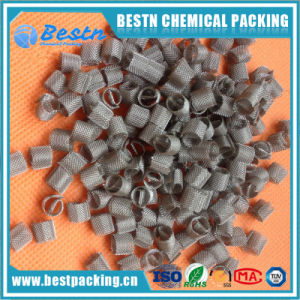 High Efficiency Monel Dixon Ring Tower Packing Wire Mesh for Laboratory pictures & photos