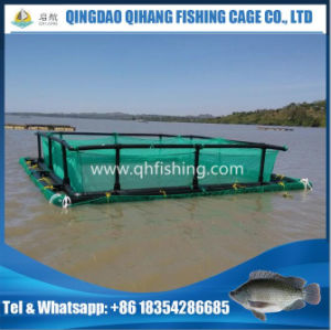 Catfish Farming Square HDPE Fish Cage with Good Quality pictures & photos