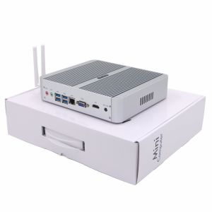 Fanless Mini PC with DDR4 RAM I5 CPU Iris540 Graphics pictures & photos
