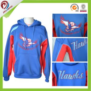 Slub Fabric Fleece Custom Oversized Hoodie with Your Own Design pictures & photos