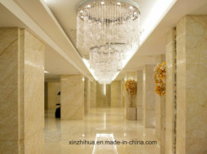 Golden Spider Marble for Tiles, Countertop, Wall with Luxuries Color, Cream Beige Marbletile pictures & photos