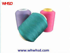 Wholesale Polyester Single Covered Yarn Spandex Yarn pictures & photos