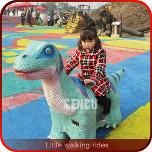 Amusement Park Walking Animatronic Dinosaur Ride pictures & photos