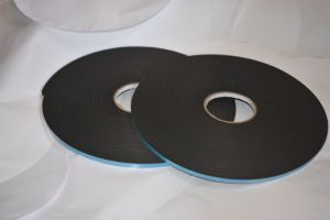 Black Double Sided 3.2mm PVC Foam Tape Coating Acrylic Adhesive pictures & photos