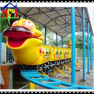 Electric Train Cartoon Worm Model for Indoor Play Land pictures & photos
