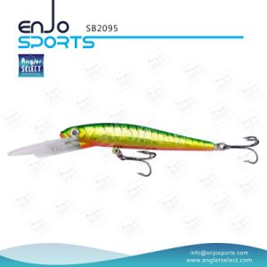 Plastic Artificial Bait Deep Diving Fishing Lure with Vmc Treble Hooks (SB2095) pictures & photos