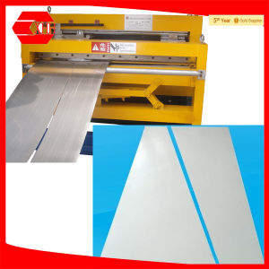 Straight & Tapered Sheet Automatic Slitting Machine pictures & photos